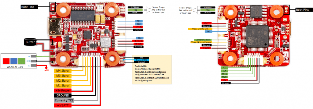 MillivoltOSD Wiring Diagram